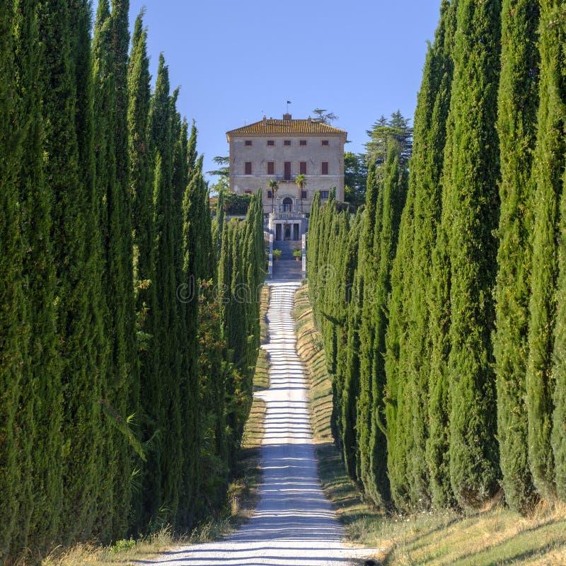 Amelia Umbria, Italy: Villa Aspreta stock photography