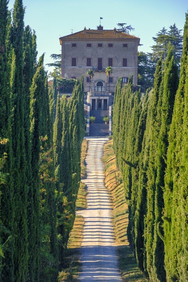Amelia Umbria, Italy: Villa Aspreta stock images
