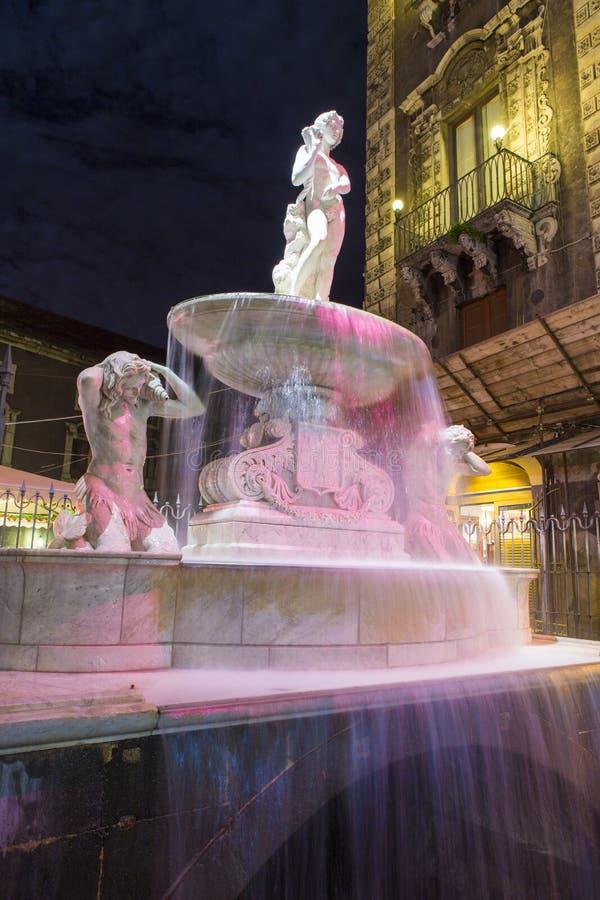 ` Amenano Dell Фонтаны стоковое изображение