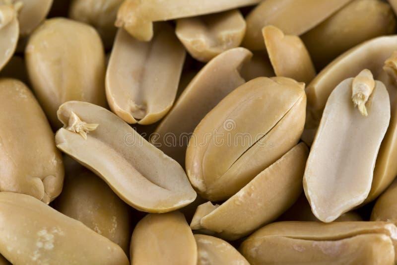 Amendoins americanos salgados foto de stock