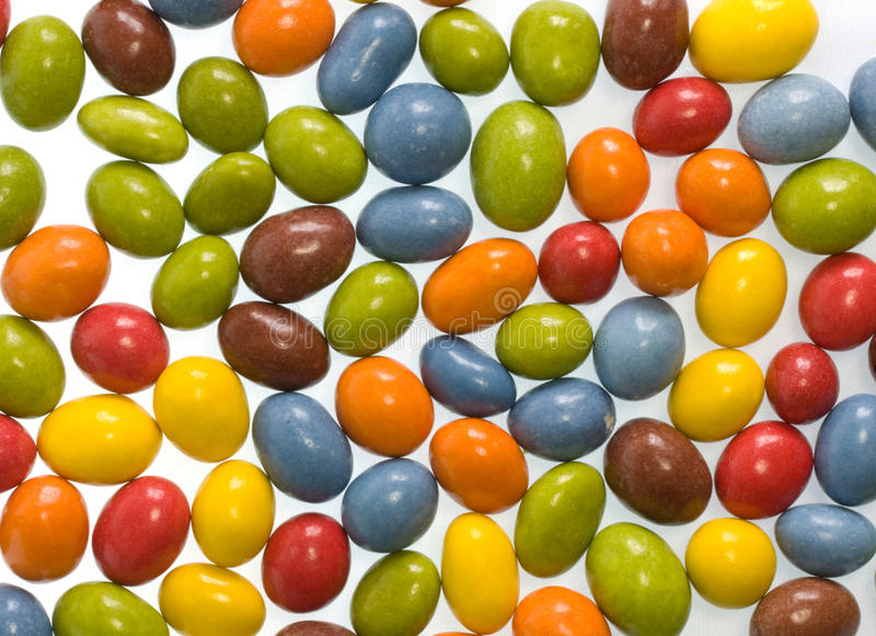 Amendoins dos doces fotos de stock royalty free