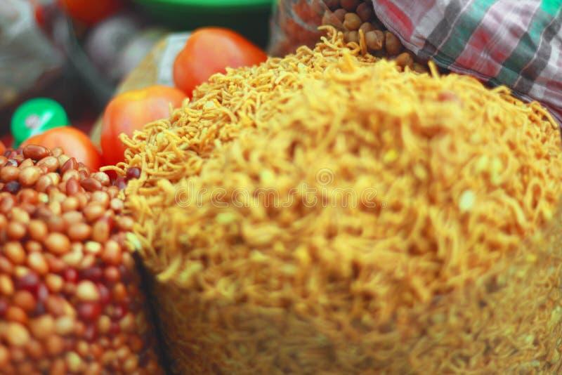 Amendoins fritados, fim acima imagens de stock royalty free