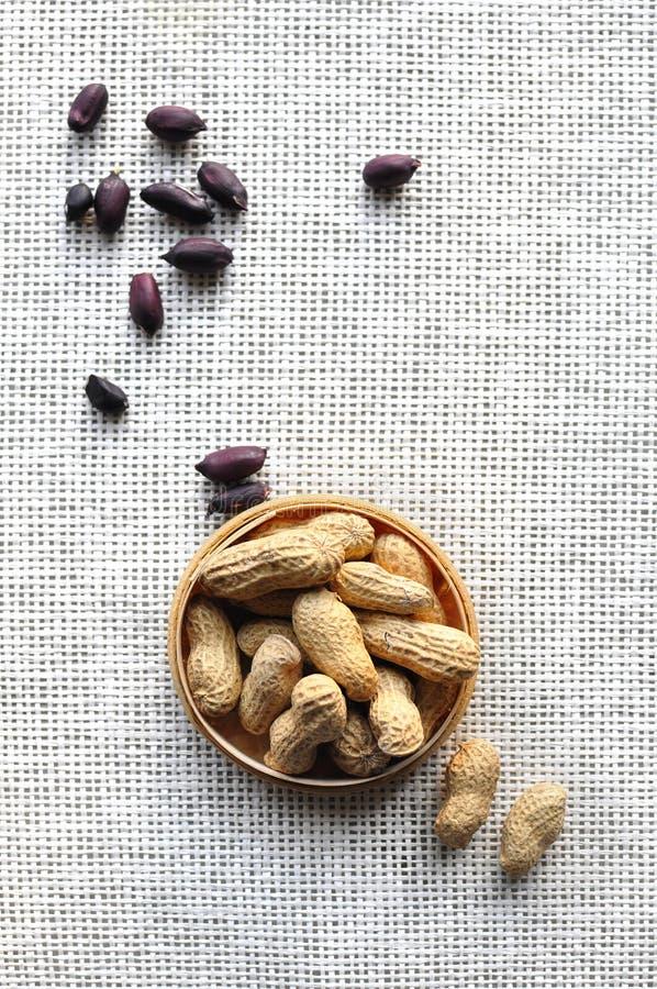 Amendoins pretos fotografia de stock royalty free