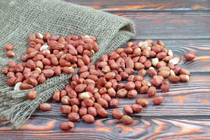 Amendoins Saudável imagens de stock
