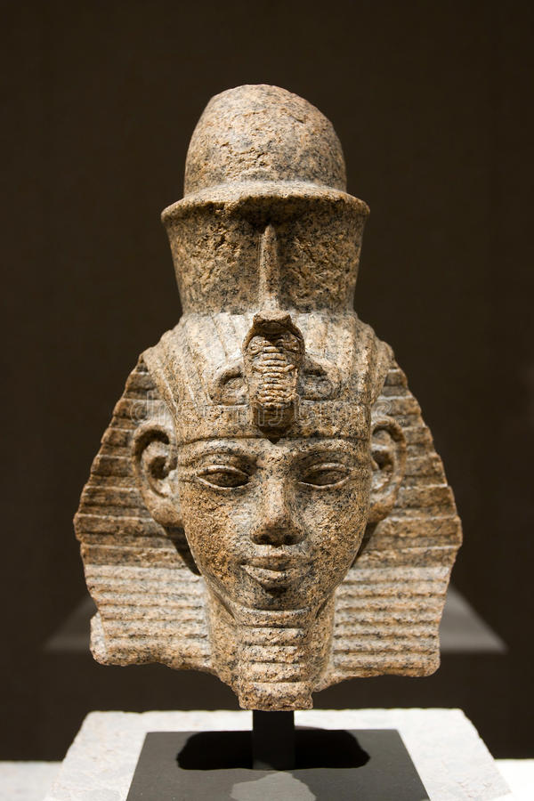 Amenhotep III royalty-vrije stock fotografie