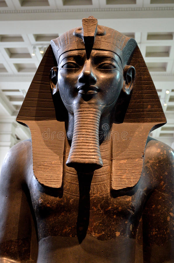 Amenhotep III royalty-vrije stock foto