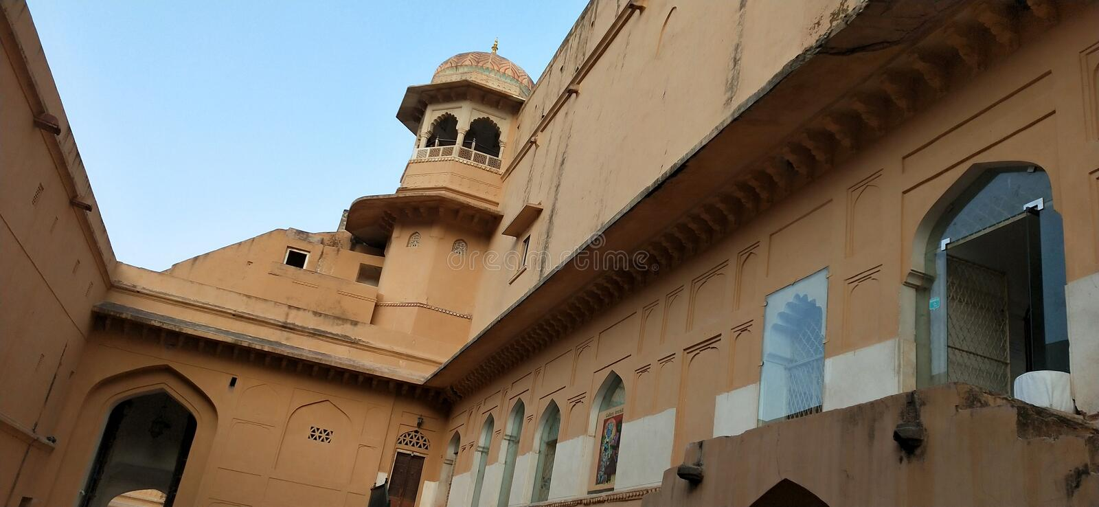 Amer Fort royalty-vrije stock afbeelding
