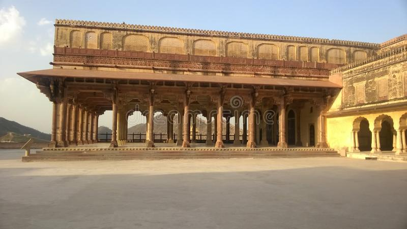 Amer Fort stock afbeelding