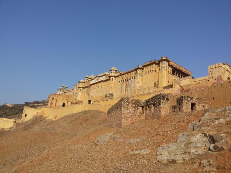 Amer Fort, Amer, Jaipur stock image