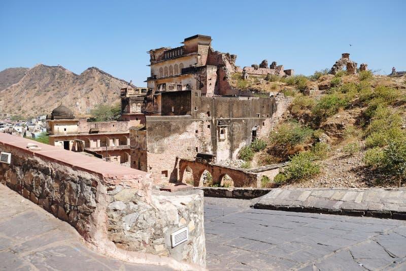 Amer Fort, het Gemeentelijke Bedrijf van Jaipur royalty-vrije stock foto