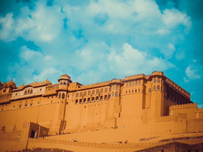 Amer fort Jaipur zdjęcie stock