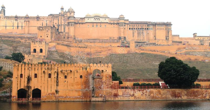 AMER FORT ( JAIPUR ) Damage Area stock photos