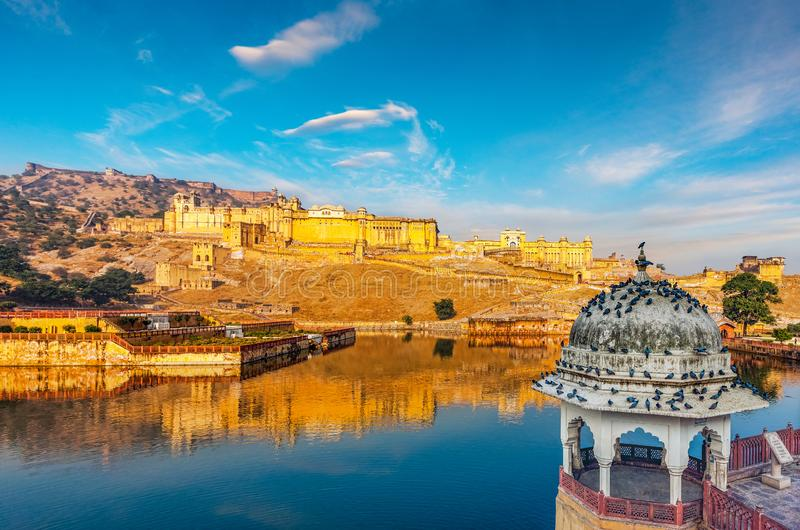 Amer Fort, Rajasthan, India stock foto