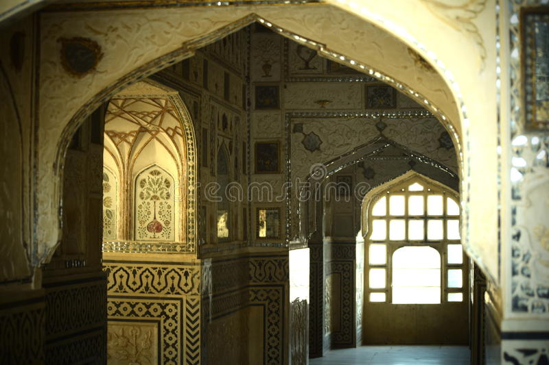 Amer Fort_ Rajasthan stock photo