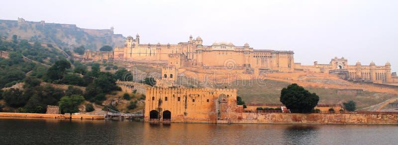 AMER fortu szkody teren (JAIPUR) zdjęcie stock