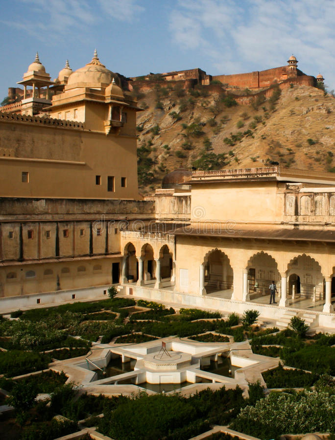 Download Amer Palace stock image. Image of fort, india, amber - 20613627