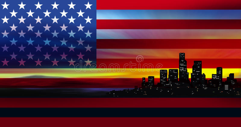 Download America stock illustration. Illustration of busy, independence - 10252804