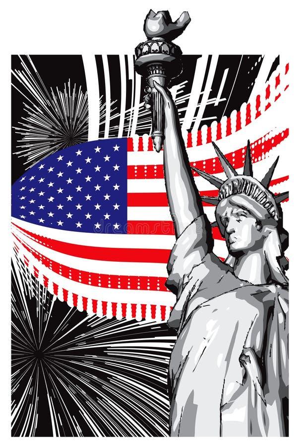 Download America stock vector. Illustration of artwork, drawing - 10871286