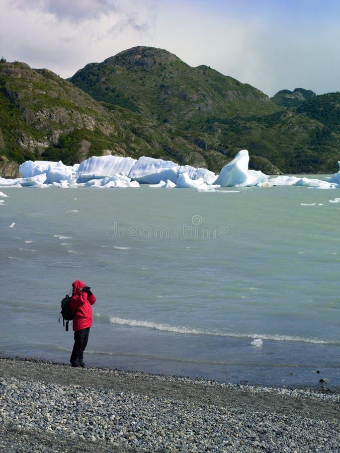 america Chile patagonia południe obrazy stock