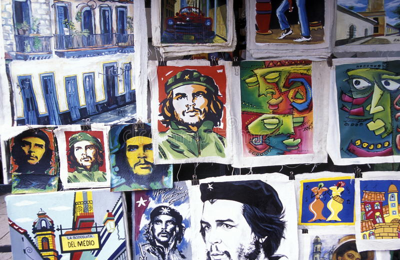 AMERICA CUBA HAVANA royalty free stock images