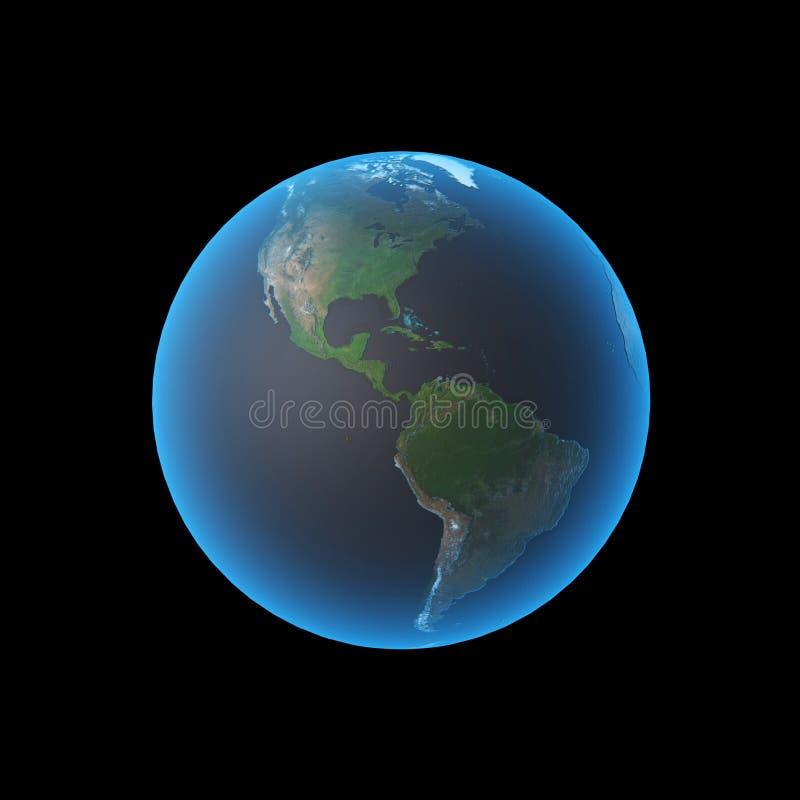 america earth ελεύθερη απεικόνιση δικαιώματος