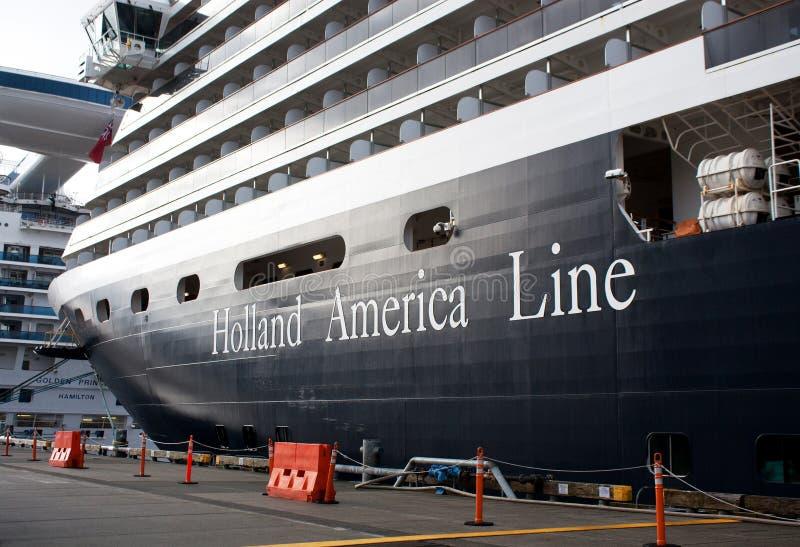 america Holland portu statek zdjęcia stock