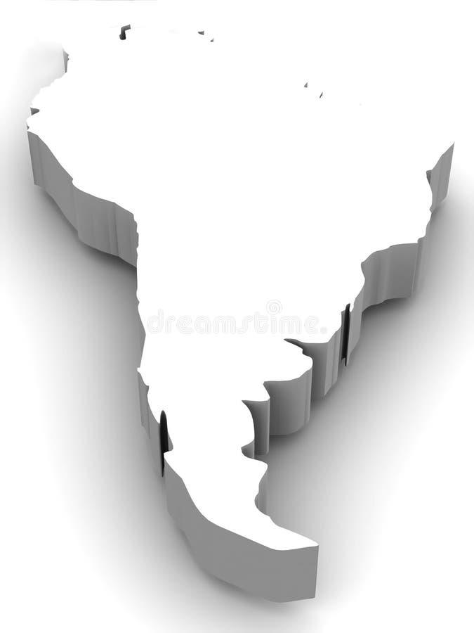 america południe ilustracja wektor