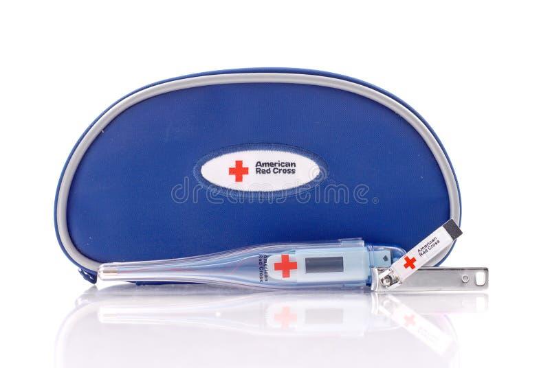 America Red Cross Infant Emergency Kit stock image