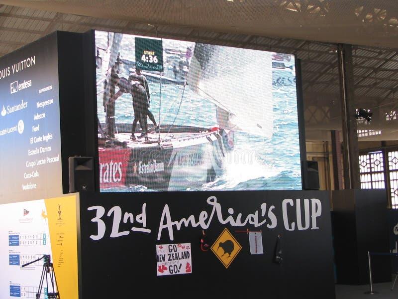 Download America's cup editorial image. Image of defender, ocean - 18846805
