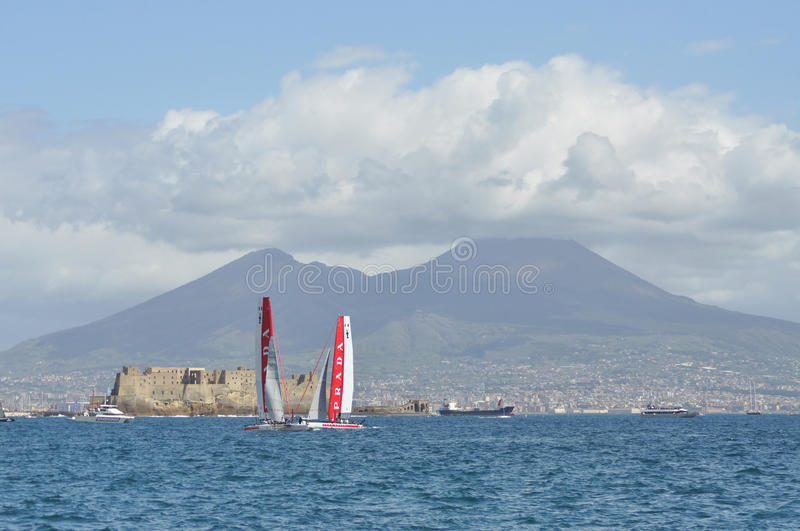 Download America's Cup 2012 In Naples Editorial Stock Image - Image: 24299359