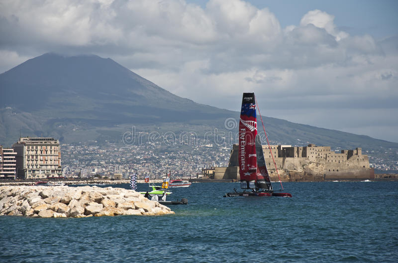 America's cup stock images