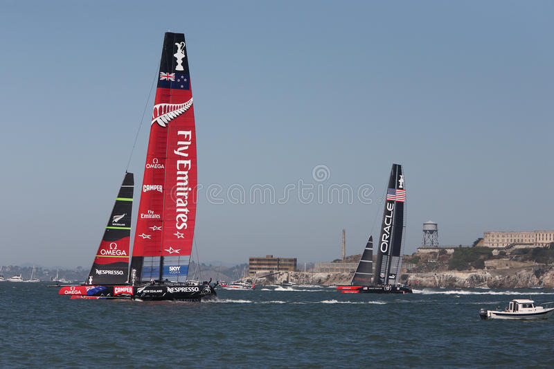 Download 2013 America's Cup Finals San Francisco Editorial Image - Image of oracle, fleet: 33466310