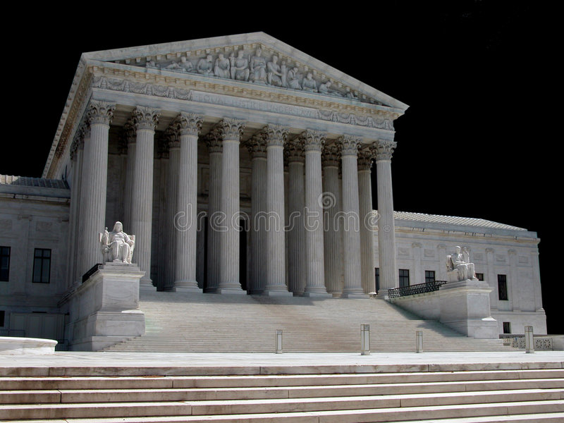 America's Supreme Court royalty free stock photos
