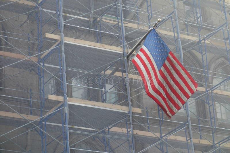 America Under Construction royalty free stock photo