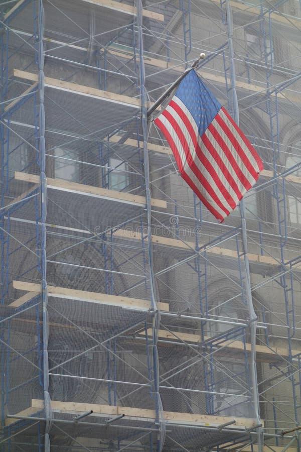 America Under Construction stock photos