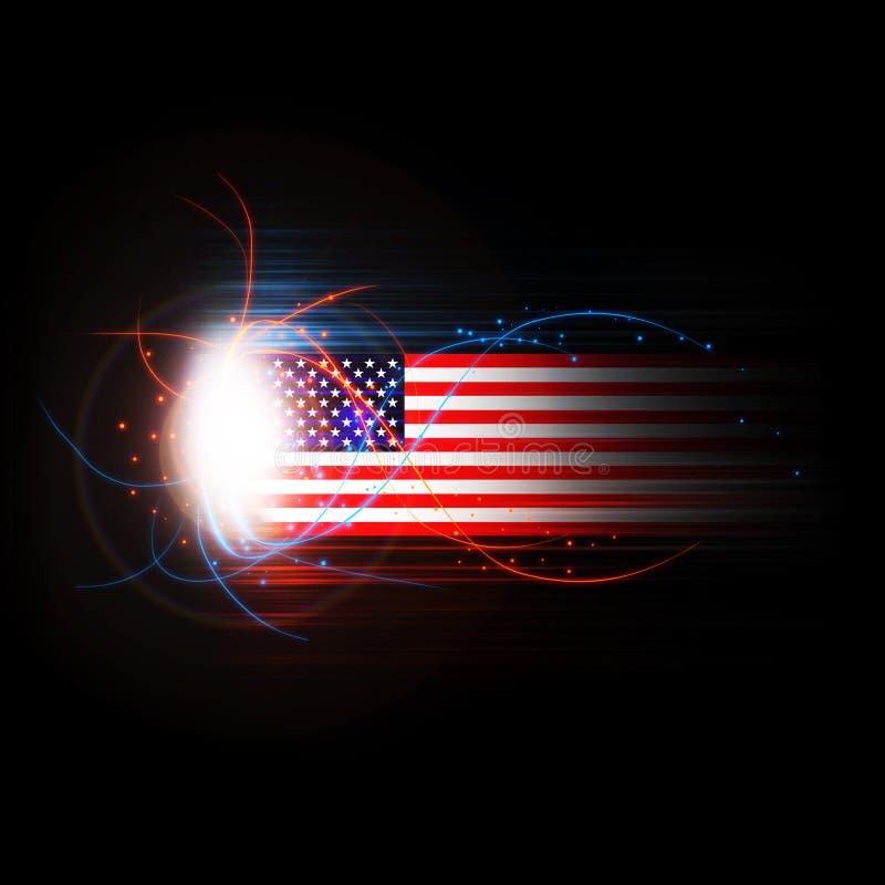Free America USA Flag Stars And Stripes Illustration Royalty Free Stock Image - 31188016