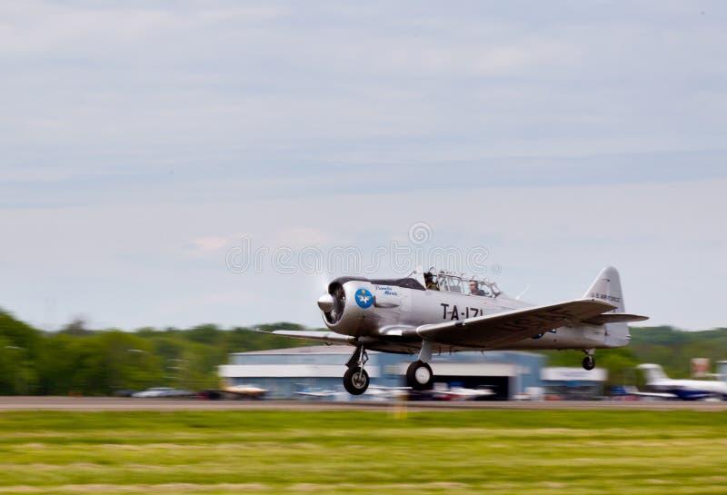 American AT-6 Texan Plane Editorial Photo