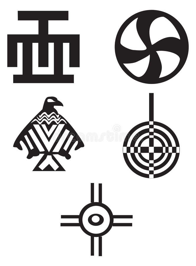 Download American And African  Symbols - Indians Stock Vector - Image: 8678700