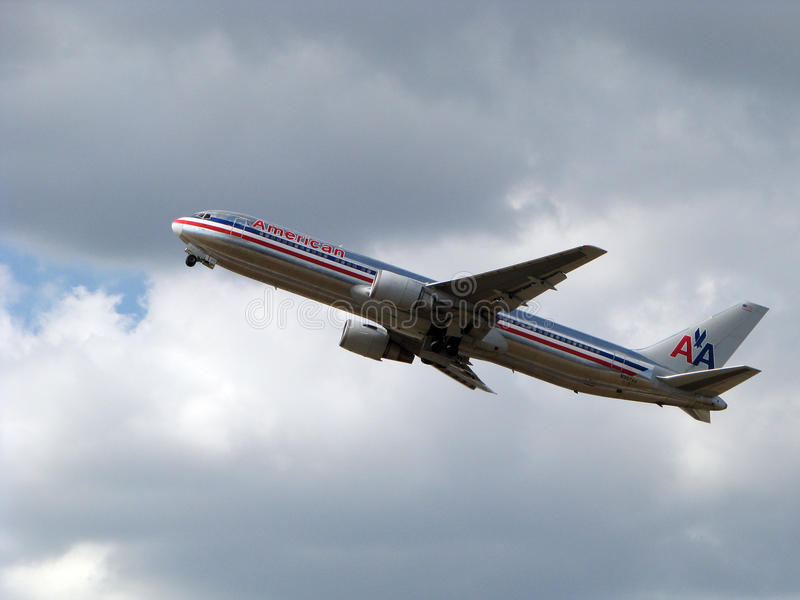 American airlines aircraft stock photos