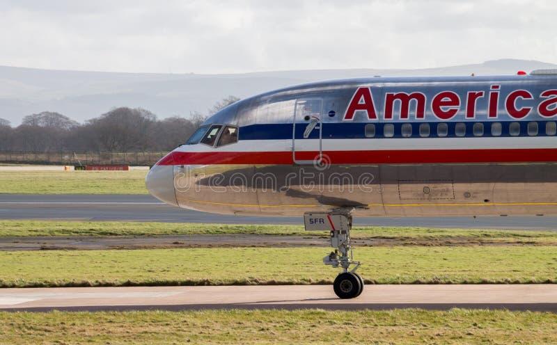 American Airlines Boeing 767 στοκ εικόνες