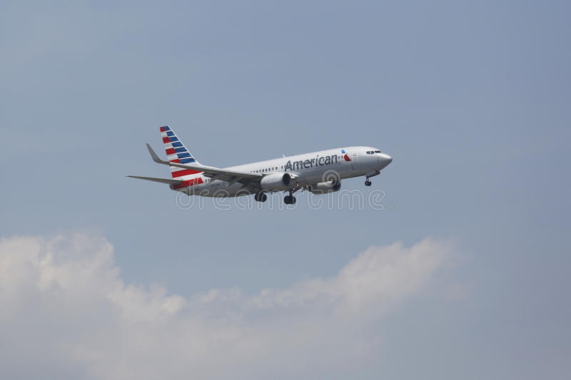 American Airlines Boeing 737 At Owen Roberts International