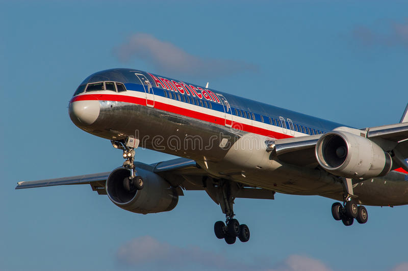 Boeing B757 Jet Aircraft Editorial Photo Image Of