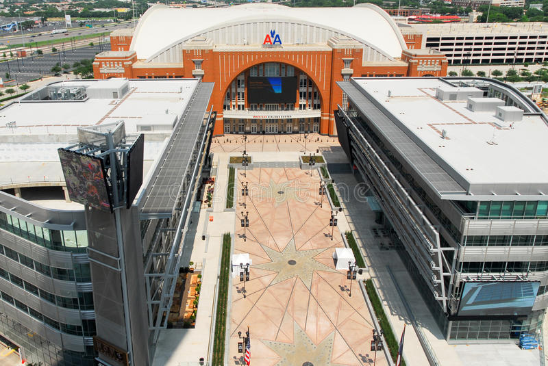 American Airlines Center - Dallas royalty free stock photography