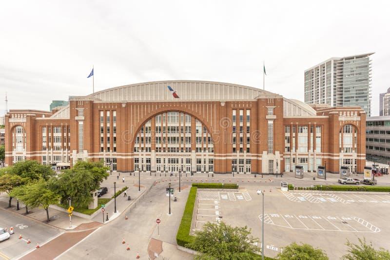 American Airlines-Centrum in Dallas, de V.S. royalty-vrije stock fotografie