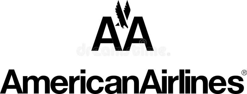 American Airlines-embleempictogram vector illustratie