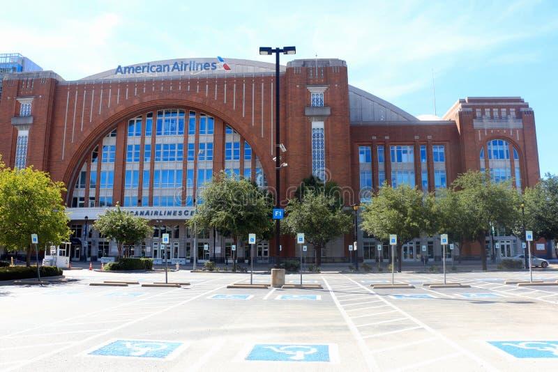 American Airlines mitt Dallas Texas royaltyfri foto