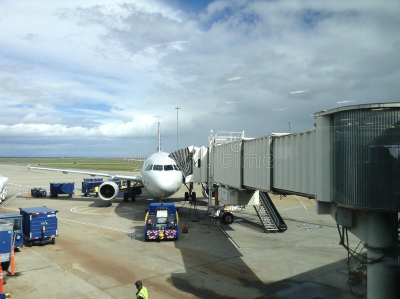 American Airlines nivå royaltyfri foto