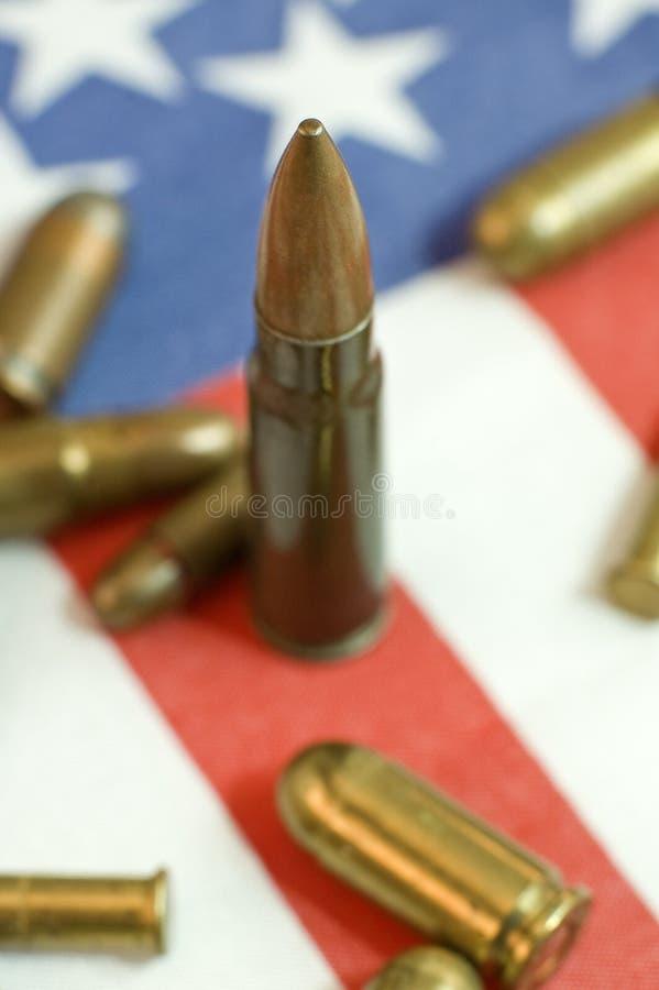 American Ammunition Royalty Free Stock Photo