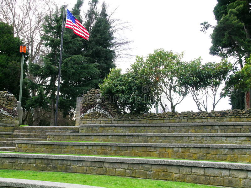 Download American Ampitheater stock image. Image of anacortes, terraced - 603887