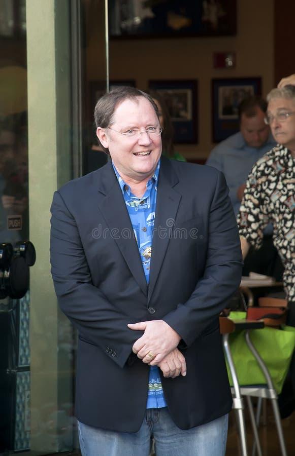 American animator, director John Lasseter